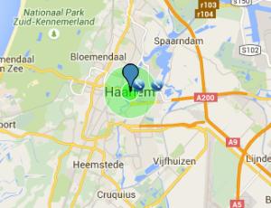 Werkgebied slotenmaker Haarlem