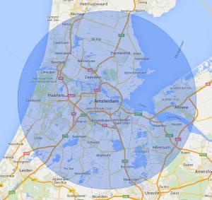 Werkgebied Slotenservice Amsterdam