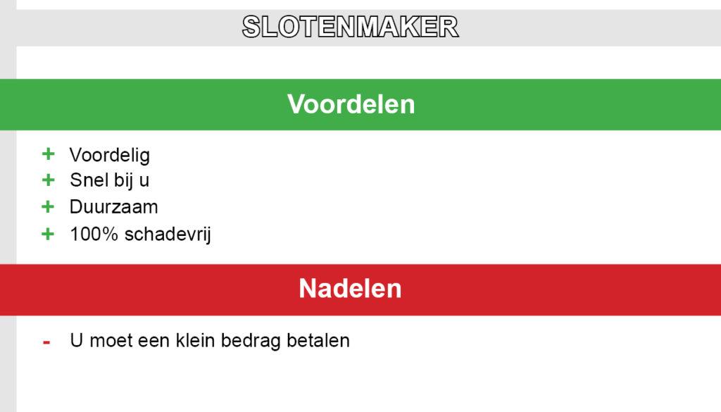 Slotenmaker