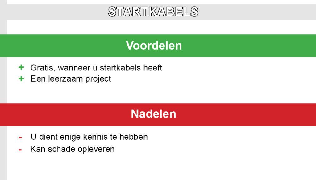 Startkabels